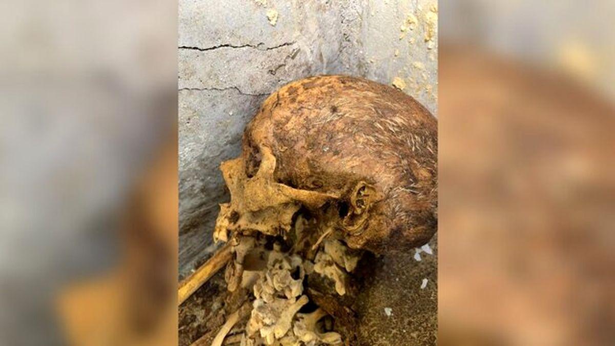کشف یک مومیایی در «پمپئی» + تصاویر