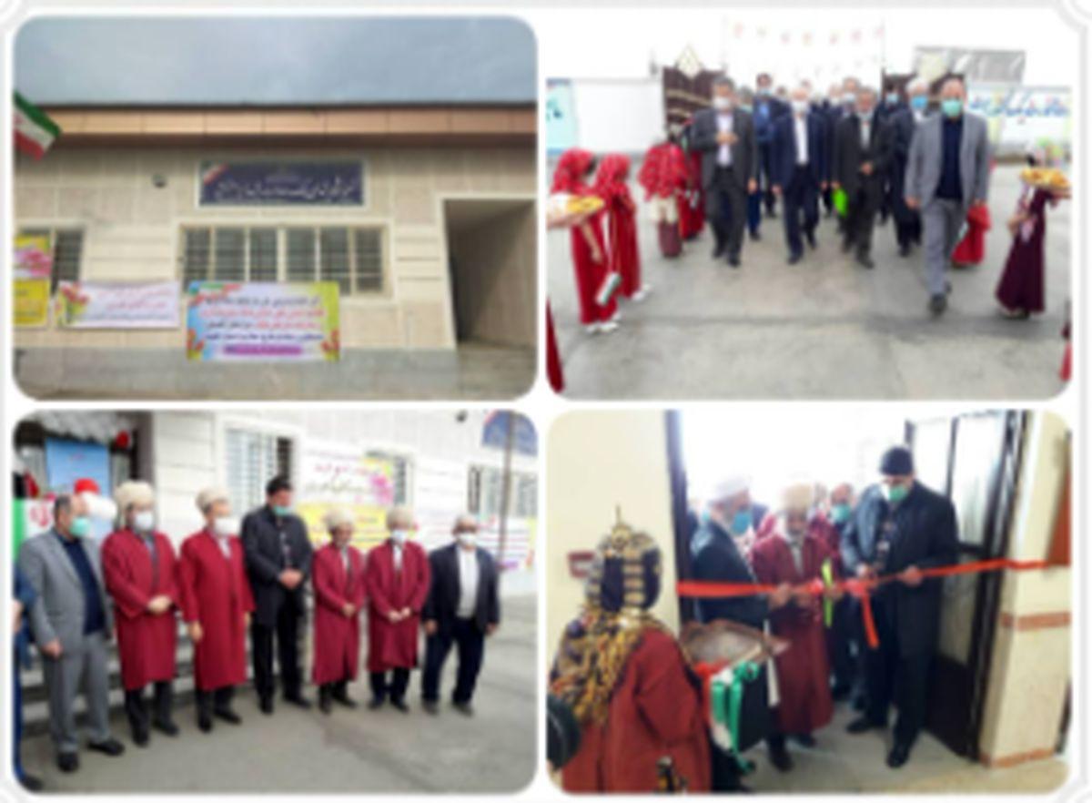 افتتاح مدرسه شهدای بانک صادرات ایران در آققلا