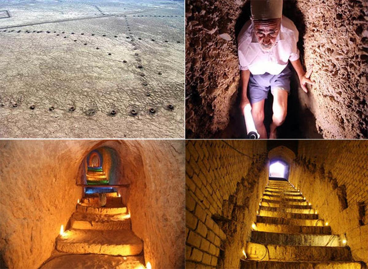 هشتمین عجایب دنیا از دل خاک ایران بیرون کشیده شد + تصاویر
