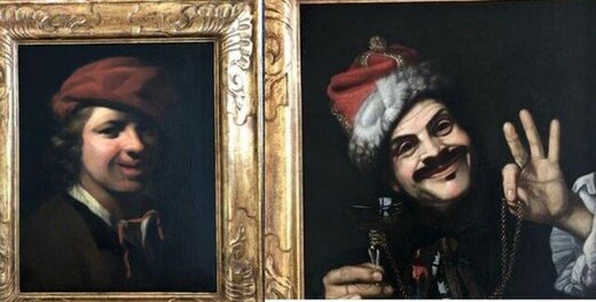 نقاشیهای گرانقیمتی که در سطل زباله پیدا شدند
