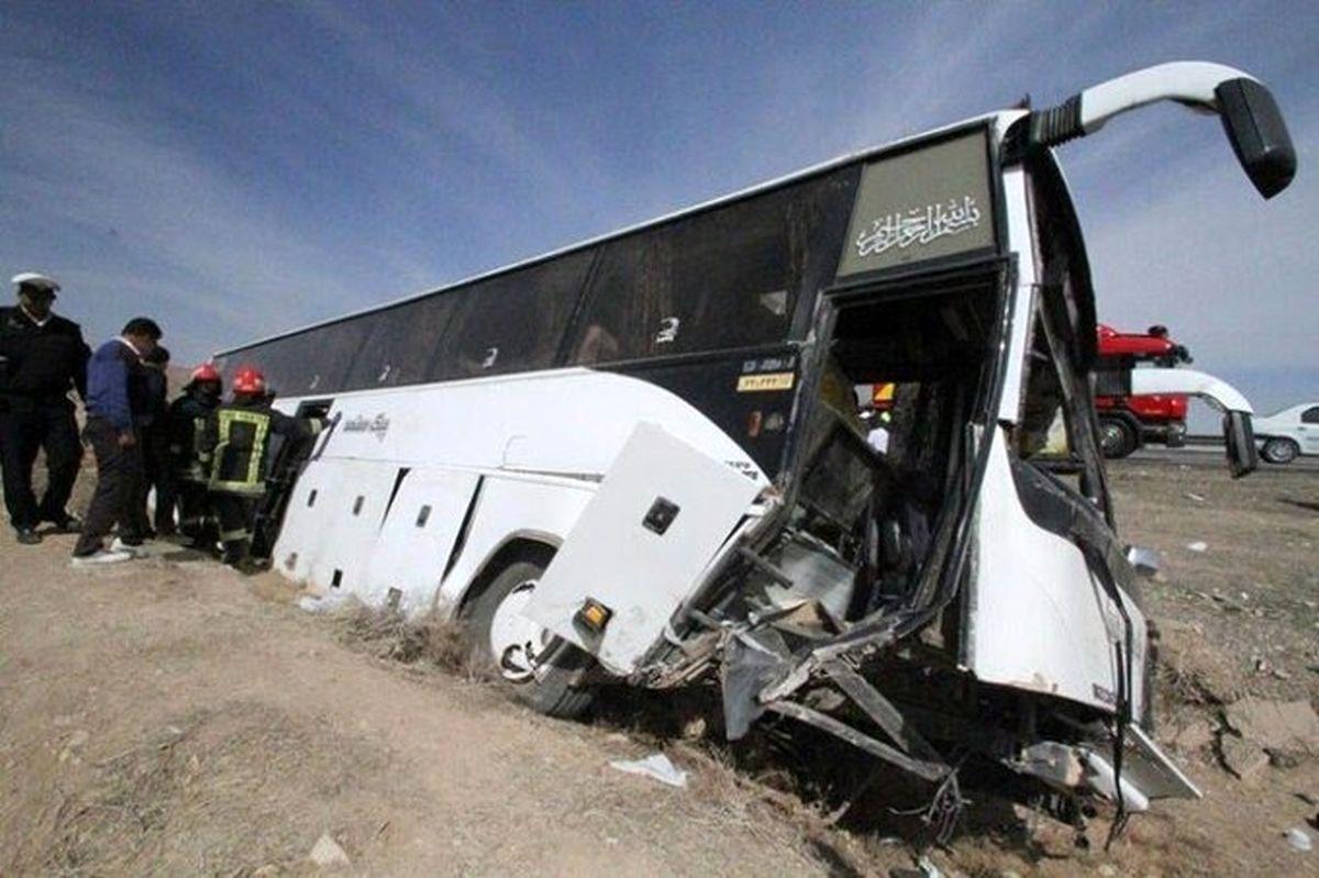 نام جان باختگان حادثه اتوبوس خبرنگاران/ لیست کامل اسامی مصدومان حادثه