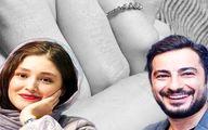 مراسم عقد نوید محمدزاده و فرشته حسینی در روز عید غدیر/ عکس