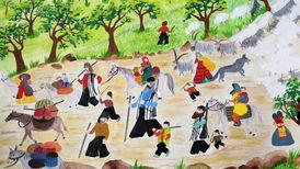 درخشش نقاشی های کودکان ایرانی در رومانی