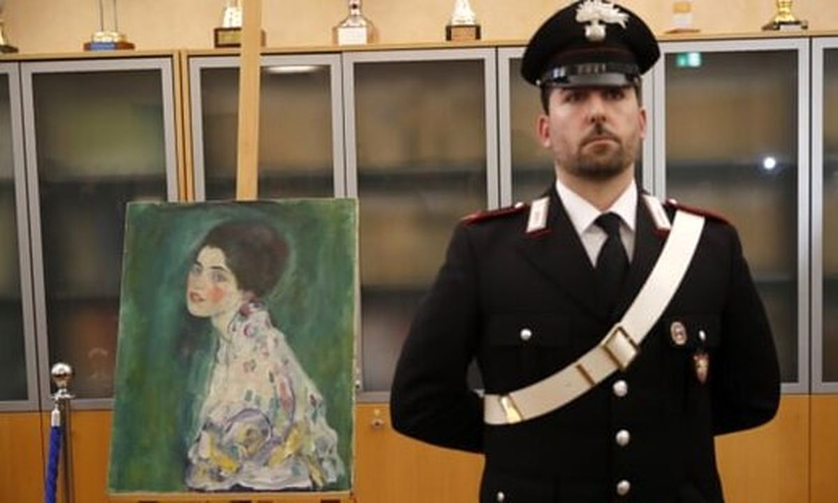 نمایش نقاشی ربوده شده پس از ۲۳ سال