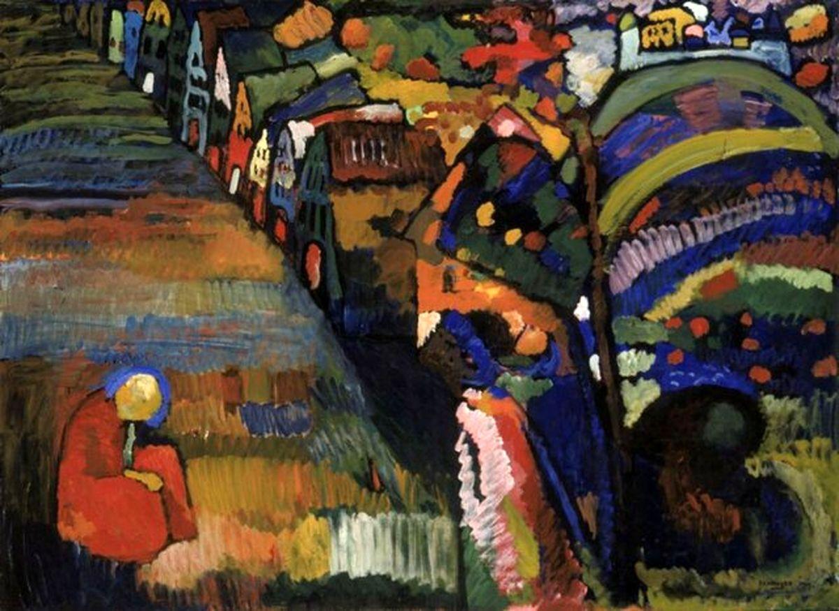 بازگشت تابلو نقاشی «واسیلی کاندینسکی» را به وارثان صاحب یهودی