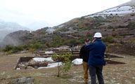 فرو رفتن بخش زیادی از محوطه باستانی دوران آهن و مفرغ تا ساسانیان به خاطر سد سیمره